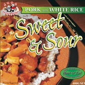 Sweet and Sour Pork on White Rice